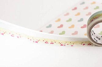 """Papier - WASHI / papierová páska na tvorenie """"na lúke akvarelu"""" - 8397041_"""