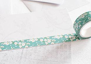Papier - WASHI / papierová páska na tvorenie 34 - 8397084_