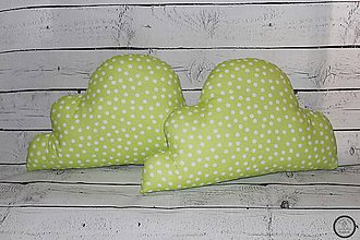 Úžitkový textil - Obláčik vankúš - 8397974_
