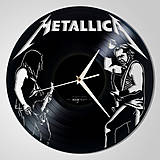 Hodiny - Metallica - vinylové hodiny (vinyl clocks) - 8400078_