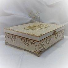 Krabičky - Šperkovnica pre princeznú - 8400450_