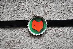 Náhrdelníky - líška na krk - 8400241_