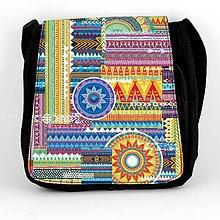 Iné tašky - Taška na plece L indiánska výšivka 02 - 8401535_