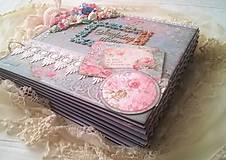 Papiernictvo - Album na želanie pre Evku s krabičkou - 8400257_