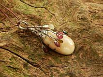 Náhrdelníky - V doprovode (opál, turmalín, sagenit) - 8399748_