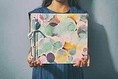 Papiernictvo - Fotoalbum klasický, polyetylénový obal s pestrofarebnou potlačou - 8398546_