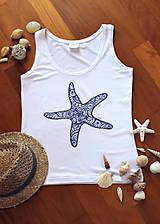 - Tielko s ornamentovou morskou hviezdicou... - 8399170_