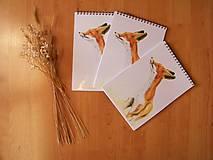 Papiernictvo - Zápisník: Voniam, vetrím. - 8401098_