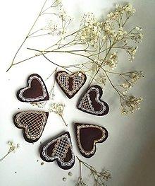 Darčeky pre svadobčanov - Luxusné vyšívané medovníčky pre svadobných hostí - 8399987_