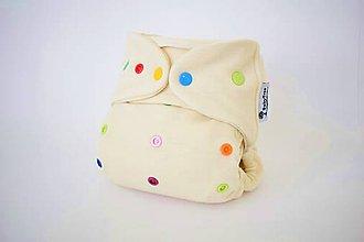 Detské doplnky - Vlniačiky cukríčkové - vrchné vlnené nohavičky S-M-L - 8401168_