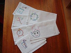 Úžitkový textil - Enda - obálka na servítky - 8400698_