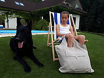 Nákupné tašky - Ľanová nákupná taška Mediteran Style - 8401498_