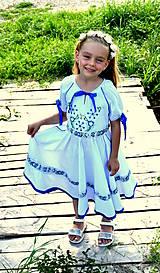 Detské oblečenie - Folk šaty pre dievčatká - 8402465_