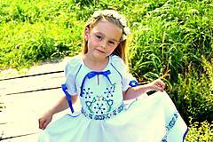 Detské oblečenie - Folk šaty pre dievčatká - 8402472_