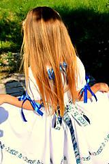 Detské oblečenie - Folk šaty pre dievčatká - 8402477_