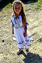 Detské oblečenie - Folk šaty pre dievčatká - 8402482_