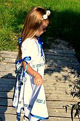 Detské oblečenie - Folk šaty pre dievčatká - 8402483_