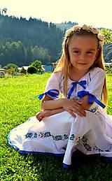 Detské oblečenie - Folk šaty pre dievčatká - 8402484_