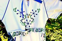 Detské oblečenie - Folk šaty pre dievčatká - 8402514_