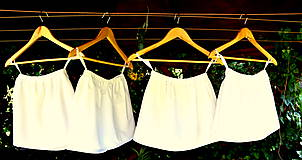 Detské oblečenie - Folk šaty pre dievčatká - 8402547_