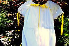 Detské oblečenie - Folk šaty pre dievčatká - 8402586_