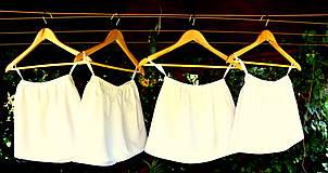 Detské oblečenie - Folk šaty pre dievčatká - 8402587_