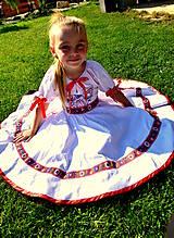 Detské oblečenie - Folk šaty pre dievčatká - 8402645_