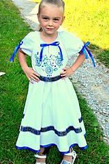 Detské oblečenie - Folk šaty pre dievčatká - 8402720_