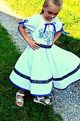 Detské oblečenie - Folk šaty pre dievčatká - 8402722_