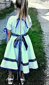Detské oblečenie - Folk šaty pre dievčatká - 8402730_