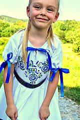 Detské oblečenie - Folk šaty pre dievčatká - 8402739_
