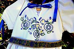 Detské oblečenie - Folk šaty pre dievčatká - 8402775_