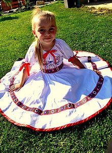 Detské oblečenie - Malé slovenské parádnice - 8402645_