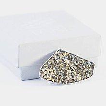 Odznaky/Brošne - ALL CRYSTALS brošňa - Rhodium - 8402050_