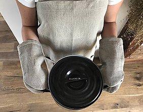 Úžitkový textil - Chňapka ľanová - 8402437_