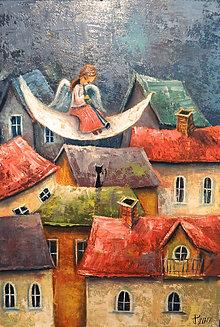 Obrazy - Andělská noc - 8404397_