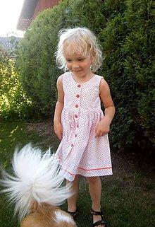 Detské oblečenie - DIEVČENSKÉ ŠATOČKY lienka - 8402374_