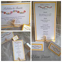 Papiernictvo - Ľudová svadba-Kalocsa - 8401832_