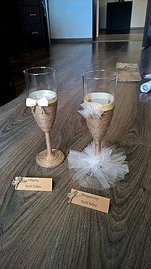 Nádoby - Svadobné poháre - 8401979_