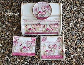 Krabičky - Sada Maison roses - 8403240_