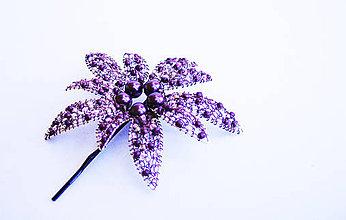 Iné šperky - Veľký kvet - vlásenka - 8402610_