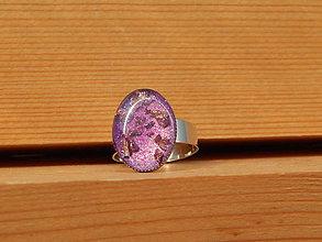 Prstene - Živicový prsteň