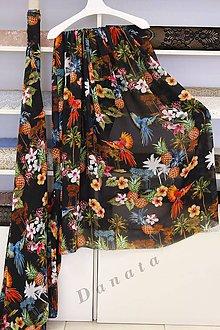 Textil - Viskózový šifón - 8405441_