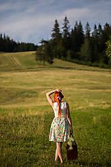 Sukne - Kvetinová sukňa - 8404800_