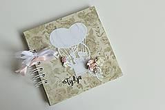 Papiernictvo - Kniha hostí - v oblakoch - 8406162_