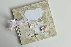 Papiernictvo - Kniha hostí - v oblakoch - 8406163_