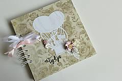Papiernictvo - Kniha hostí - v oblakoch - 8406164_