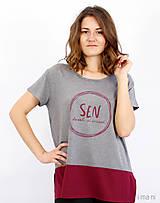 Tričká - Dámske tričko BAMBUS 06 SEN - 8405874_