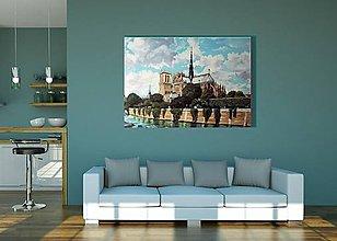 Obrazy - Paríž, Notre Dame - 8408754_