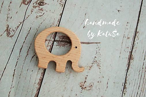 Detské doplnky - drevené hryzadlo - 8407737_